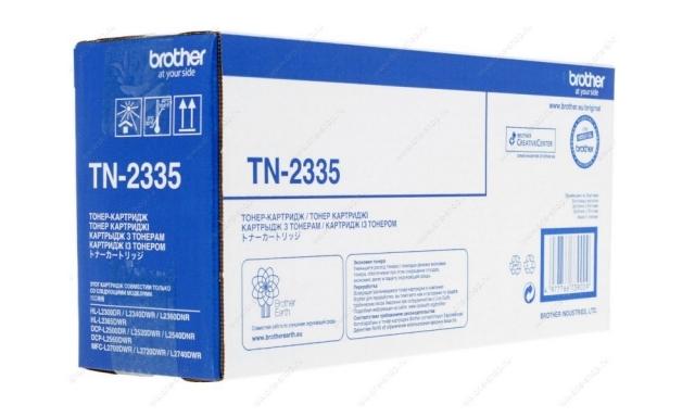 Тонер-картридж Brother TN-2335 1200стр