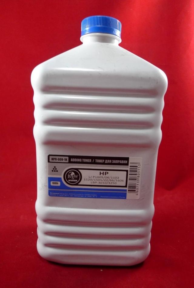 Тонер HP B&W Standart  LJP1005/1006/1505   фас.России 100г/фл.
