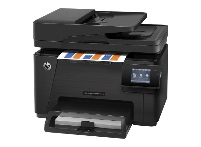 МФУ HP Color LaserJet Pro MFP M177fw (p/c/s/f, A4, 16 стр / мин, 128Mb, LCD, цв. лаз факс, USB, ADF)