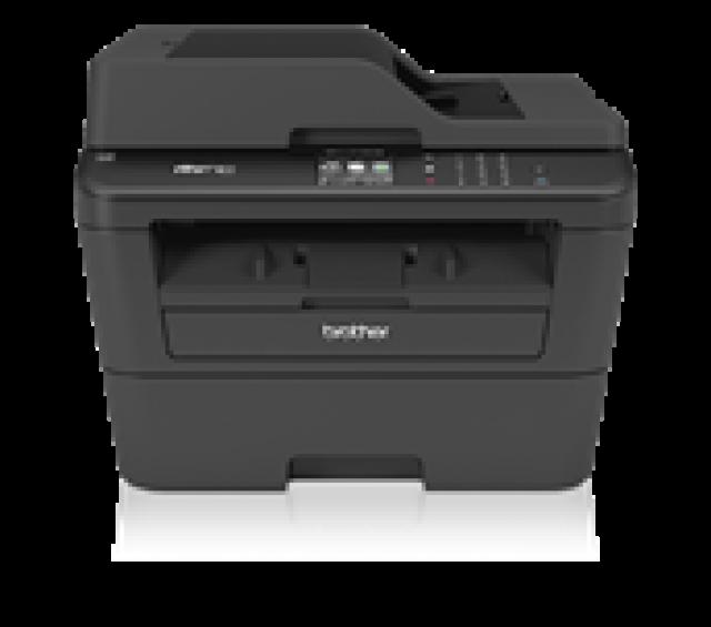 Лазерное МФУ Brother MFC-L2700DNR A4, 24 стр/мин, факс, GDI, дуплекс, ADF 35, LAN, USB