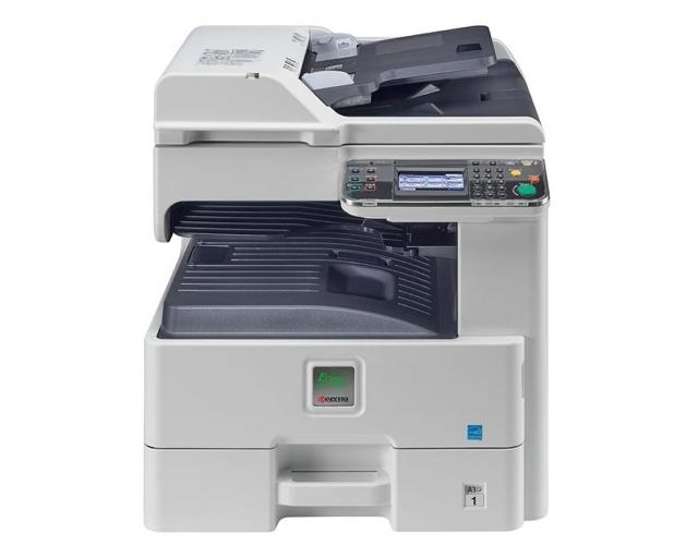 МФУ Kyocera FS-6525 MFP ч/б лаз А3 25cpm дупл RADF LAN тонер