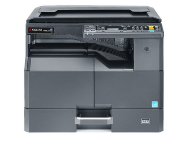 МФУ Kyocera TASKalfa 1800 (A3, 18/8 ppm А4/A3, 600 dpi, 256 Mb, USB 2.0, б/крышки, тонер)