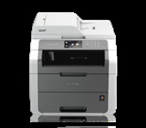 Цветное светодиодное МФУ Brother DCP-9020CDW A4, принтер/копир/сканер/сеть