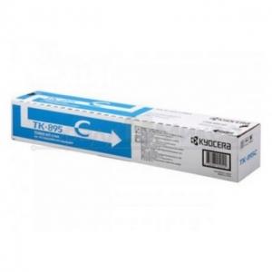 Тонер-картридж Kyocera FSC8020MFP/ 8025MFP type TK895С Cyan 6000 стр (о)