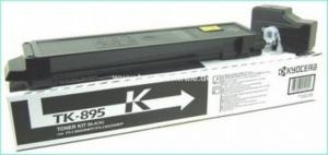 Тонер-картридж Kyocera FSC8020MFP/ 8025MFP type TK895K Black 12000 стр (о)