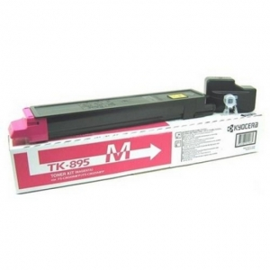 Тонер-картридж Kyocera FSC8020MFP/ 8025MFP type TK895M Magenta 6000 стр (о)