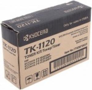 Тонер-картридж Kyocera TK-1120 3000 стр. FS1060DN/1025MFP/1125MFP (o)
